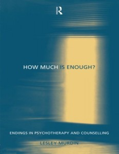 Ending   Relational Integrative Psychotherapy